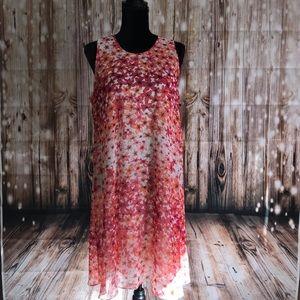 Calvin Klein Floral Dress NWT size 14